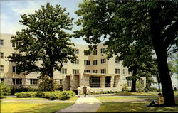 Men's Residence, Northern Illinois University Postcard