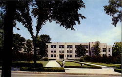 Kresge Centennial Hall, Northern Illinois University Postcard