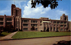Jordan Memorial Hall On Campus, Butler University Postcard