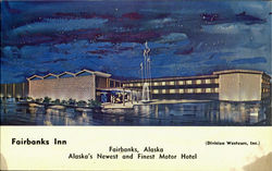 Fairbanks Inn Postcard