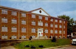 The Men's New Dormitory, Georgetown College Postcard