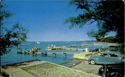 View Of Lake Mendota Postcard