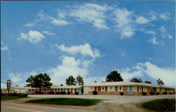 Lakeview Motel, Highway 25 North Postcard