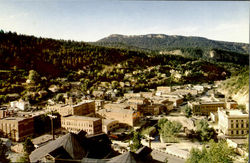Birdseye View Of Deadwood