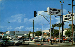 Greetings From World Famous Farmers Market Postcard