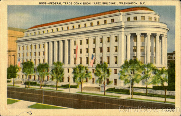 Federal Trade Commission Apex Building Washington District of Columbia