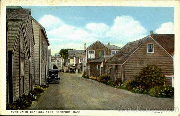 Portion Of Bearskin Neck Rockport Massachusetts