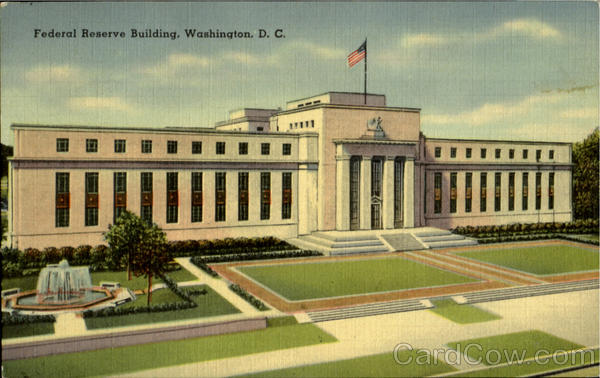 Federal Reserve Building D.C. District of Columbia