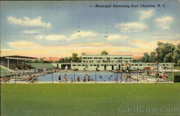 Municipal Swimming Pool Charlote North Carolina