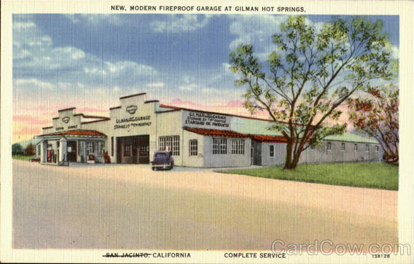 New Modern Fireproof Garage, Gilman Hot Springs San Jacinto California