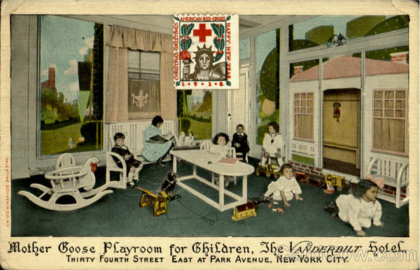 Mother Goose Playroom For Children, Thirty Fourth Street East At Park Avenue New York City