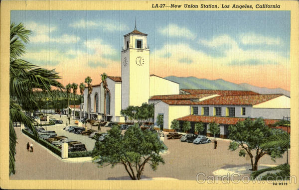 New Union Station Los Angeles California