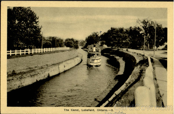 The Canal Lakefield Ontario Canada