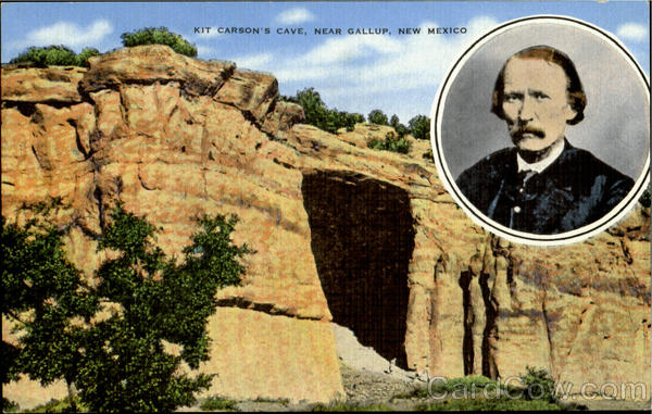 Kit Carson's Cave Gallup New Mexico