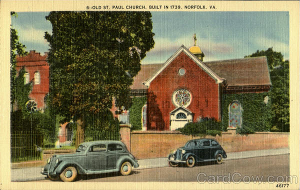 Old St. Paul Church Norfolk Virginia