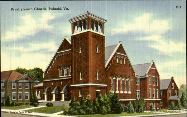 Presbyterian Church Pulaski Virginia