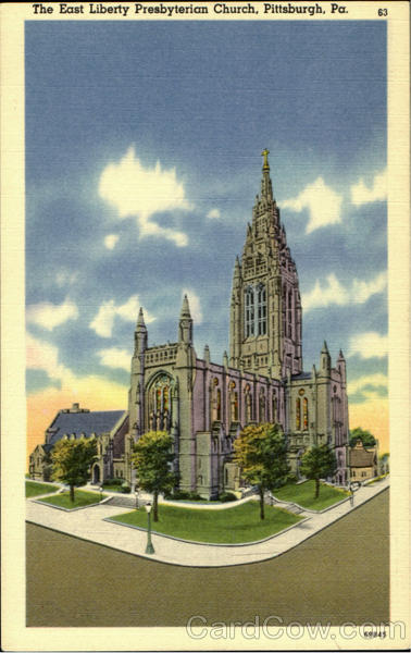 The East Liberty Presbyterian Church Pittsburgh Pennsylvania