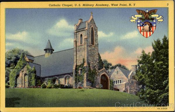 Catholic Chapel U S Military Academy West Point Ny