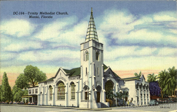 Trinity Methodist Church Miami Florida