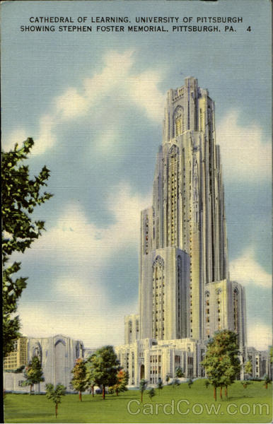 Cathedral Of Learning, University of Pittisburgh Pittsburgh Pennsylvania