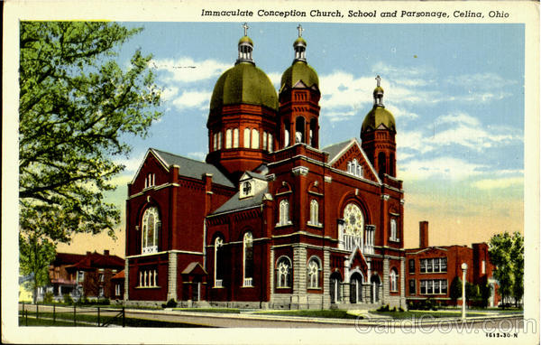 Immaculate Conception Church Celina Ohio