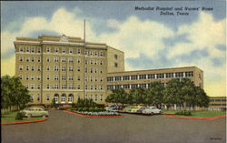 Methodist Hospital And Nurses' Home Postcard