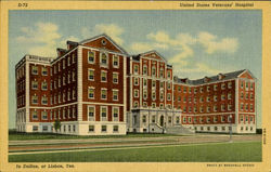 United States Veterans' Hospital Postcard