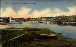 View Of The Harbor Postcard