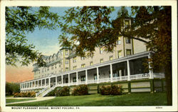 Mount Pleasant House Postcard