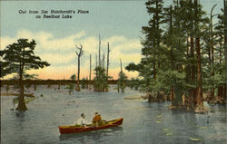 Out From Jim Hutchcraft's Place, Reelfoot Lake Postcard