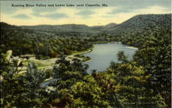 Roaring River Valley And Lower Lake