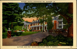 Historic Martha Washington Inn