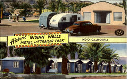 Historic Indian Wells Motel And Trailer Park