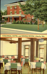 Colonial Hotel And Dining Room Postcard