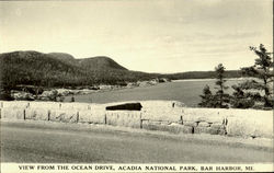 View From The Ocean Drive, Acadia National Park