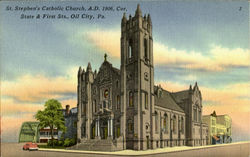 St. Stephen's Catholic Church, State & First Sts.