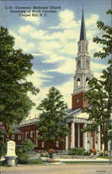 University Methodist Church, University of North Carolina