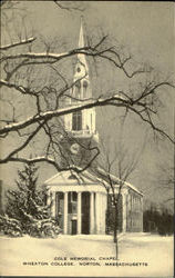Cole Memorial Chapel, Wheaton College