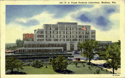 U. S. Forest Products Laboratory Postcard