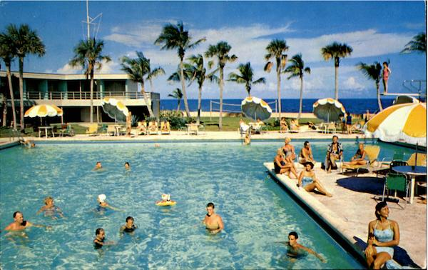 Beach Club Hotel 3100 N Ocean Blvd Fort Lauderdale Florida