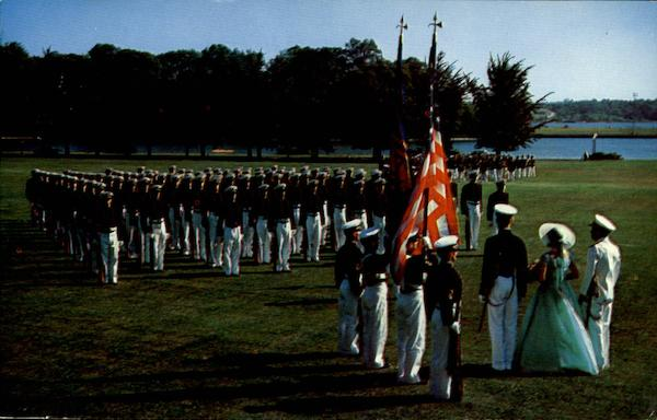 The United States Naval Academy Color Girl Annapolis Maryland