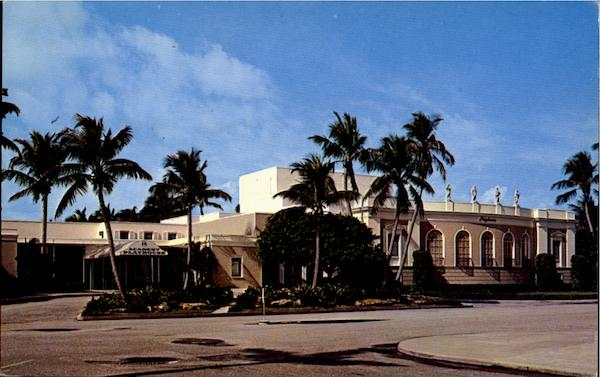 The Famous Royal Poinciana Playhouse Palm Beach Florida