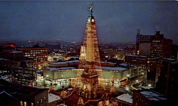Christmas In Indianapolis.The World S Tallest Christmas Tree