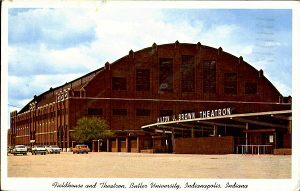 Fieldhouse And Theatron, Butler University Indianapolis