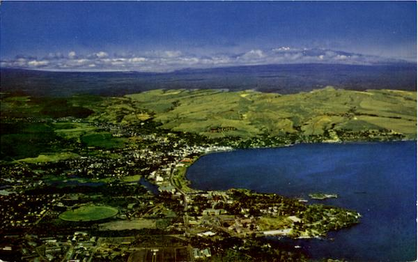 Aerial View Of Hilo Hawaii