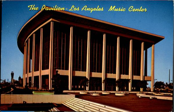 The Pavilion - Los Angeles Music Center California