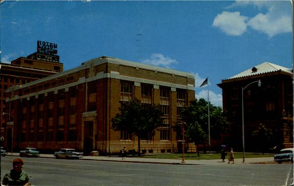 Post Office Building Abilene Texas
