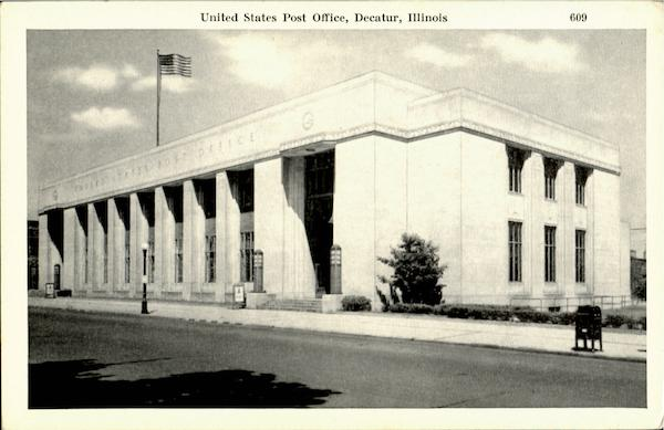 United States Post Office Decatur Illinois