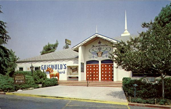 Griswold's  Smorgasbord Restaurants, 10 At Ford St Redlands California