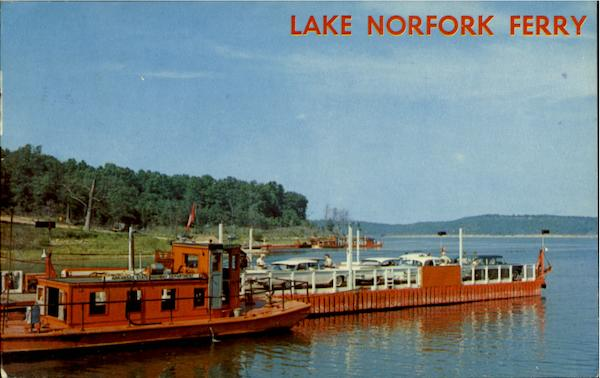 lake norfork ferry henderson  ar ferries